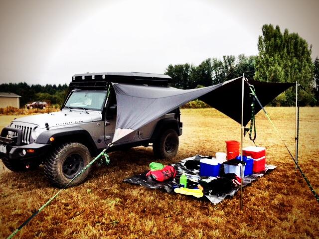 Naga - Jeep Tarp
