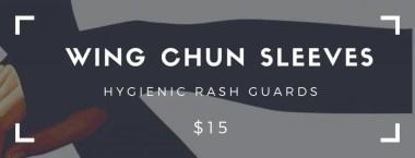 Wing Chun Sleeves