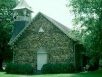 Historic slate church, Rockmart, GA