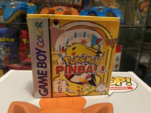 Pokemon Pinball Box