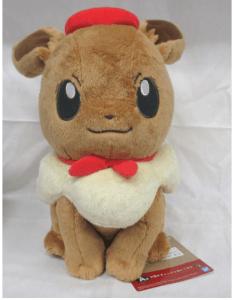 Bandai Spirits – Eevee and Colourful Art Plush (Order In 50% Deposit)
