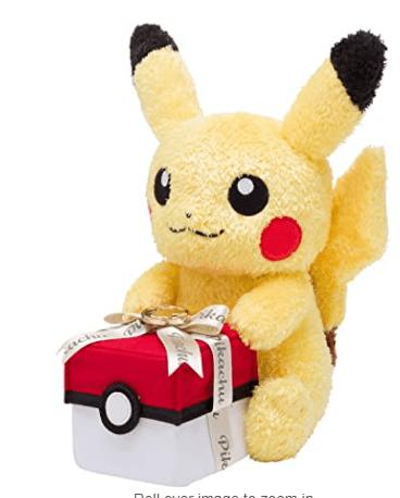 Pokémon Center Original Gift Plush Pikachu!