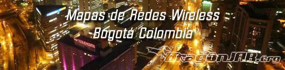Mapa Wireless Bogota WiBOG   Wireless Bogotá