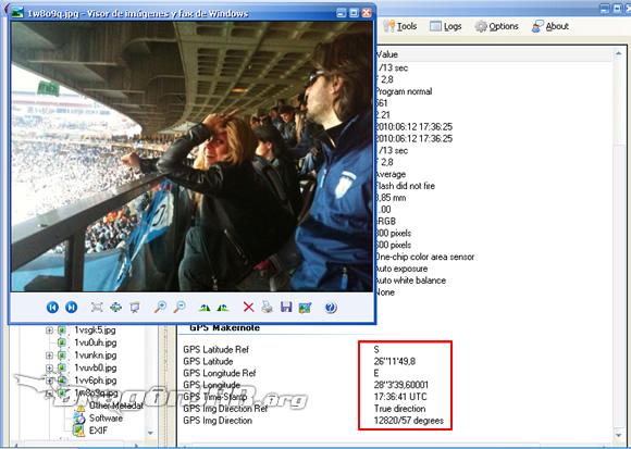 Shakira GPS4 Cómo localizar usuarios de twitter y flickr a través de sus fotos