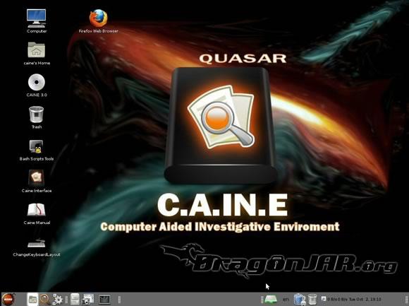 CAINE CAINE   Distribución Live CD para Análisis Forense