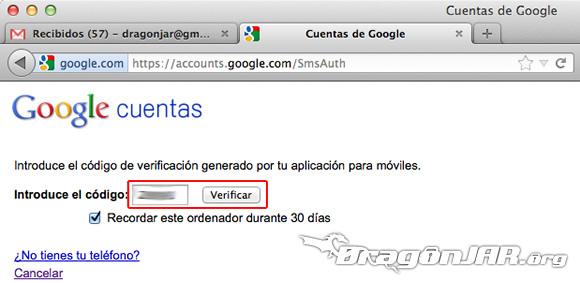 Configurar Gmail Seguro 12 Configurar GMail de forma segura