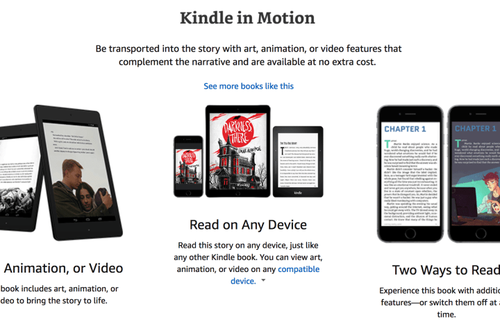 Bringing Video to Your Book with Kindle In Motion