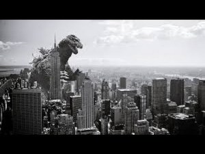 A-Z Challenge Godzilla