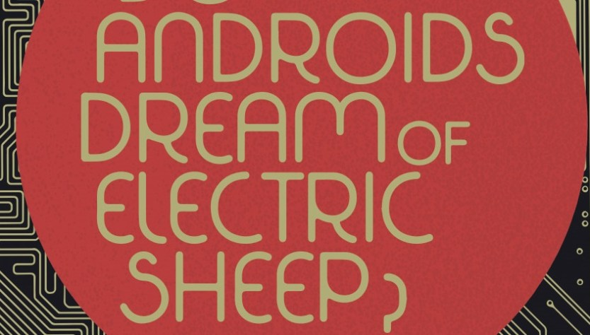 image of do androids dream of electric sheep book cover