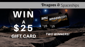 image of giveaway banner for two amazon gift cards