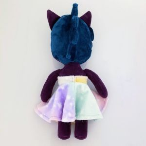 Limited-Anthro-Doll-Purple-Skin-Dark-Teal-Mowak-with-Pastel-Ombre-Dress-back