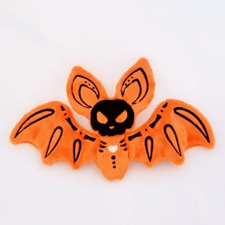 Bat_skele_heart_frontview_orange