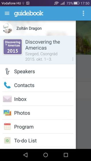 Discovering the Americas mobil app