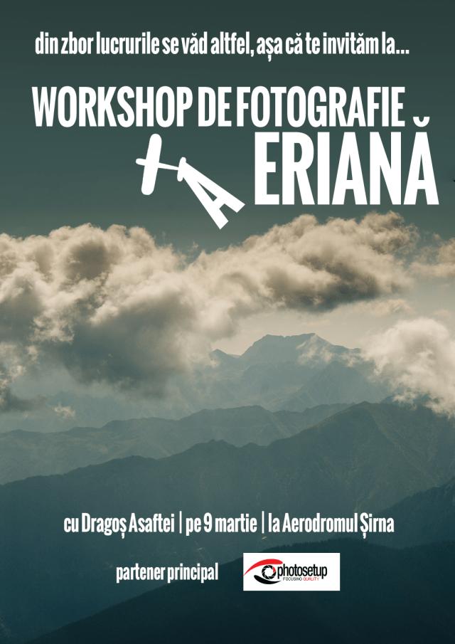 Workshop de Fotografie Aeriană