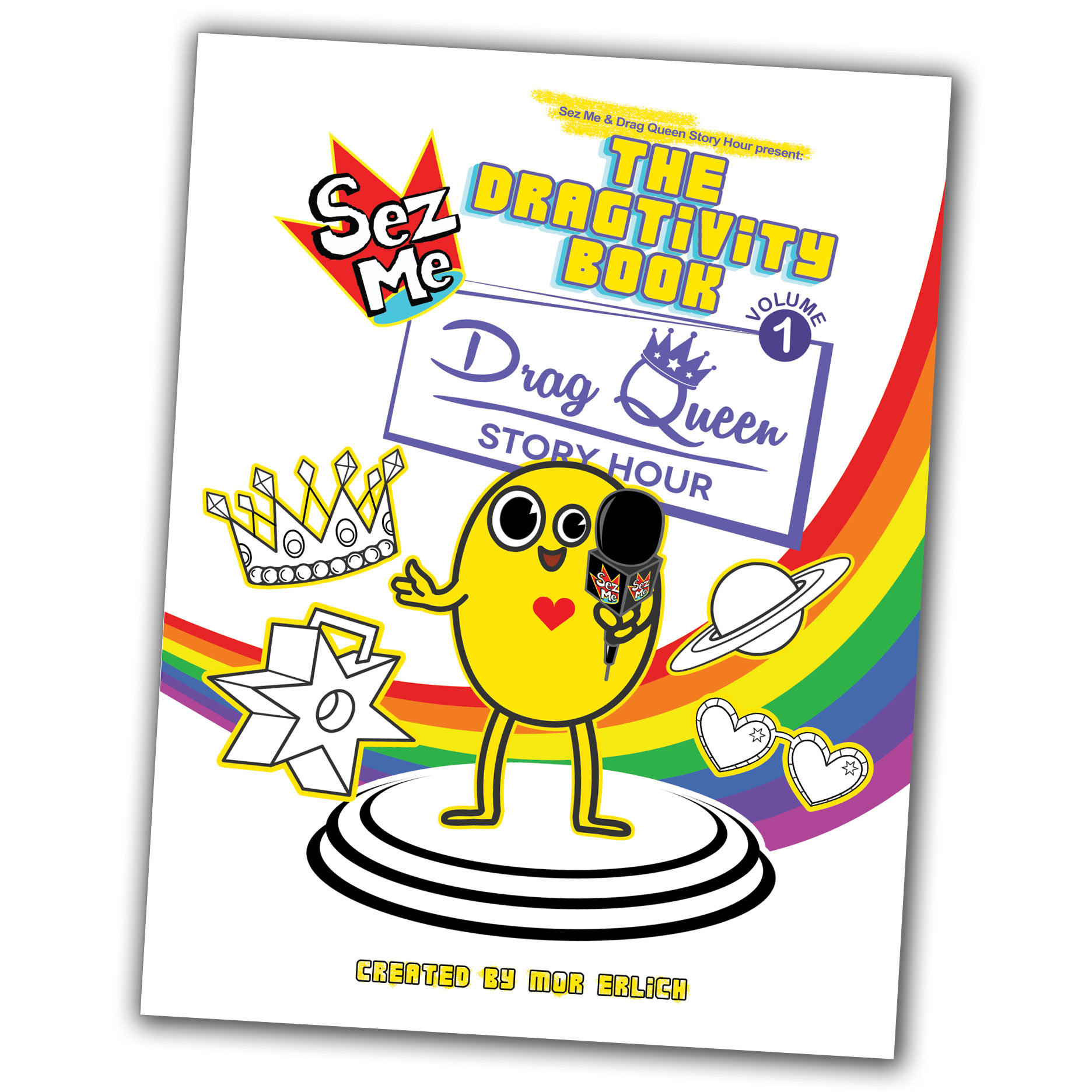 Dragtivity Book Front Cover