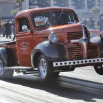 Bruce Mcconnell And Doug Driggers Run 4s In A 1946 Dodge Truck Dragzine