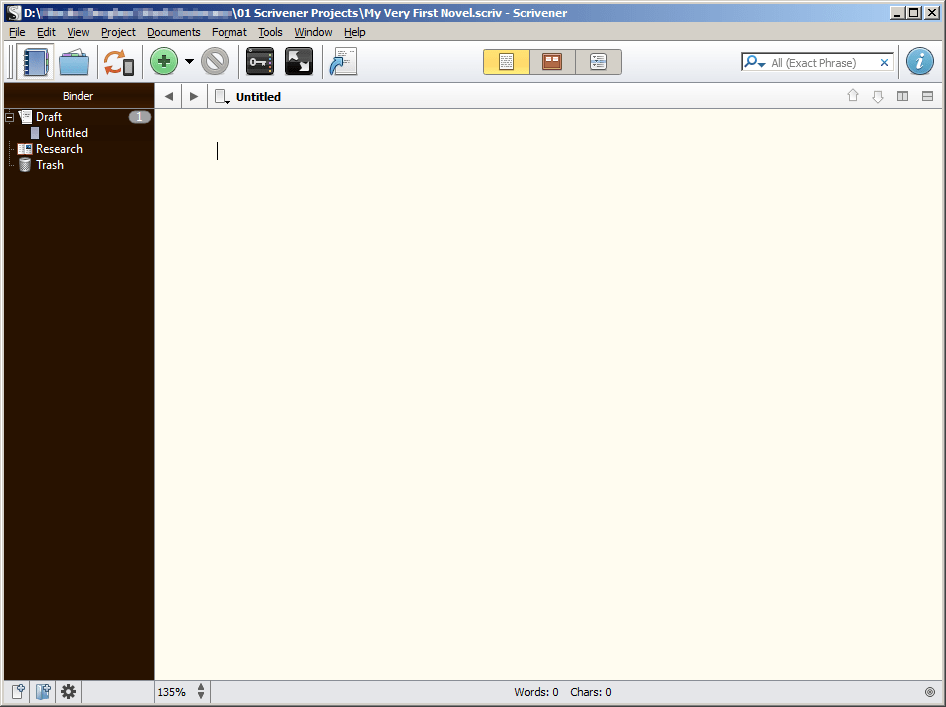 Start Writing With Scrivener For Windows In Under Two Minutes