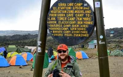 Field testing the Kalahari on Kilimanjaro