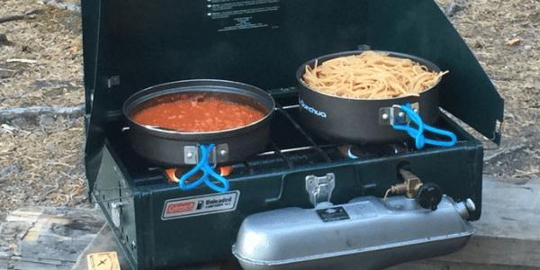 brick B warme maaltijd kanotocht