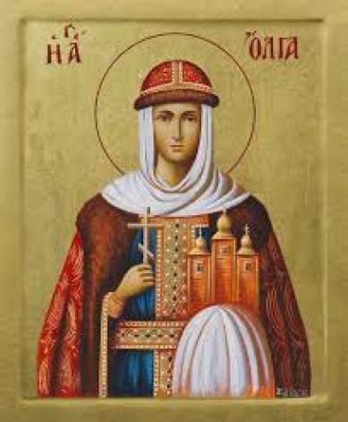 Η  Αγία Όλγα