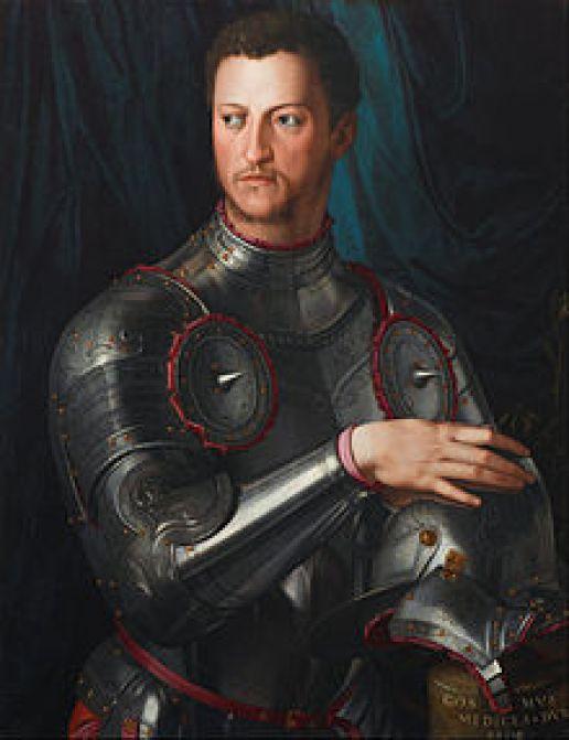 Ο Κόζιμο Α΄ των Μεδίκων, ο πρώτος Μέγας Δούκας της Τοσκάνης.