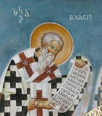 Ο Άγιος Βλάσιος