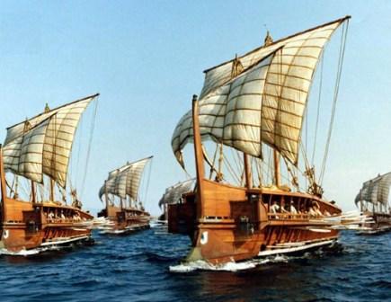 Οι ναύαρχοι της Σαλαμίνας