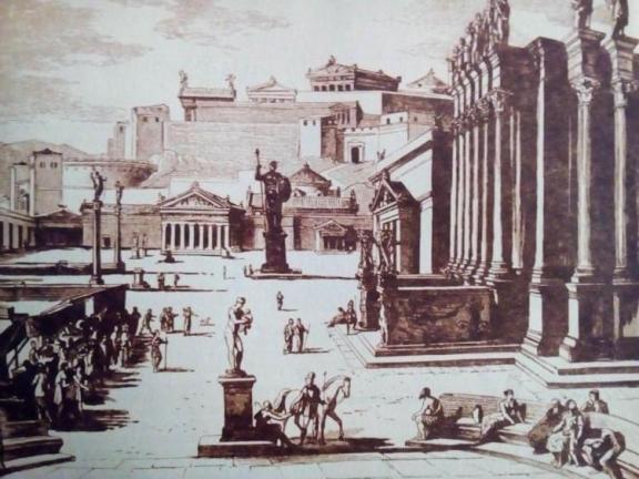 Μνημειακή τοπογραφία της Σπάρτης