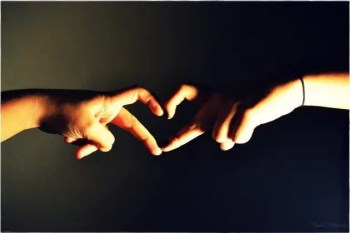 blog picture of a man and a woman's hand forming a heart