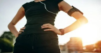 blog picture of woman about to start her morning run