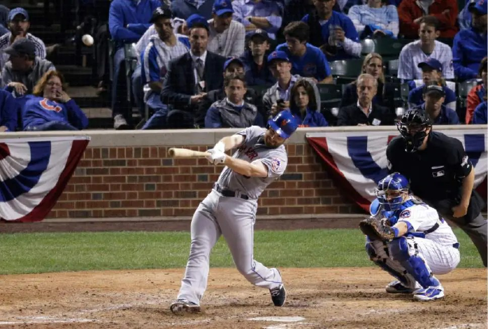 blog picture of mets game hitter hitting a ball