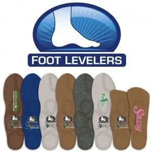blog picture of orthotic inserts called foot levelers
