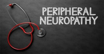 blog picture of stethoscope and the words peripheral neuropathy