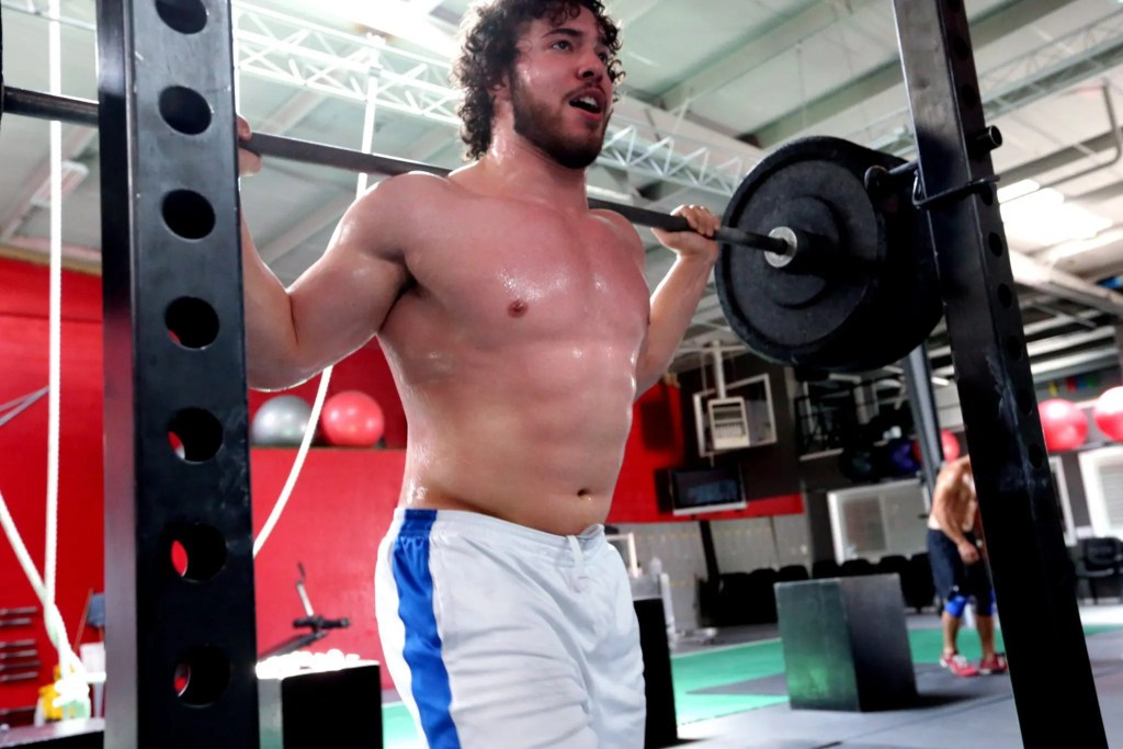 Empujar como rx atleta