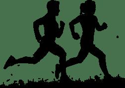 race runners male female