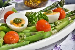 energy asparagus eggs tomatos