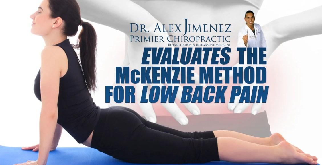 Valutazione del metodo McKenzie per la lombalgia | Chiropratico di El Paso, TX