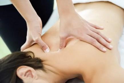 quiropráctica y masaje