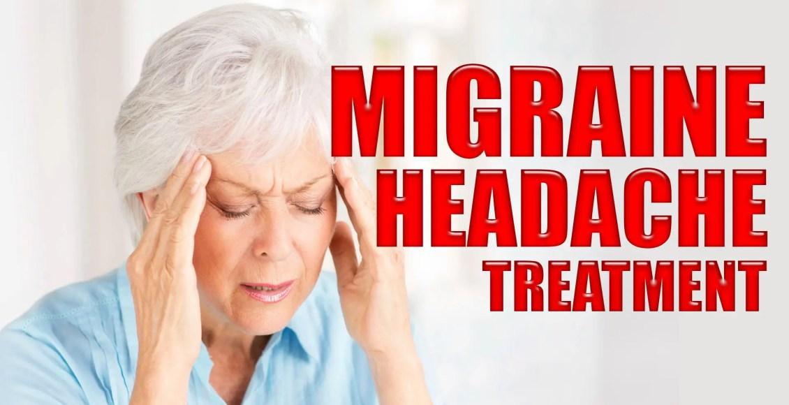 Лечение головной боли мигрени