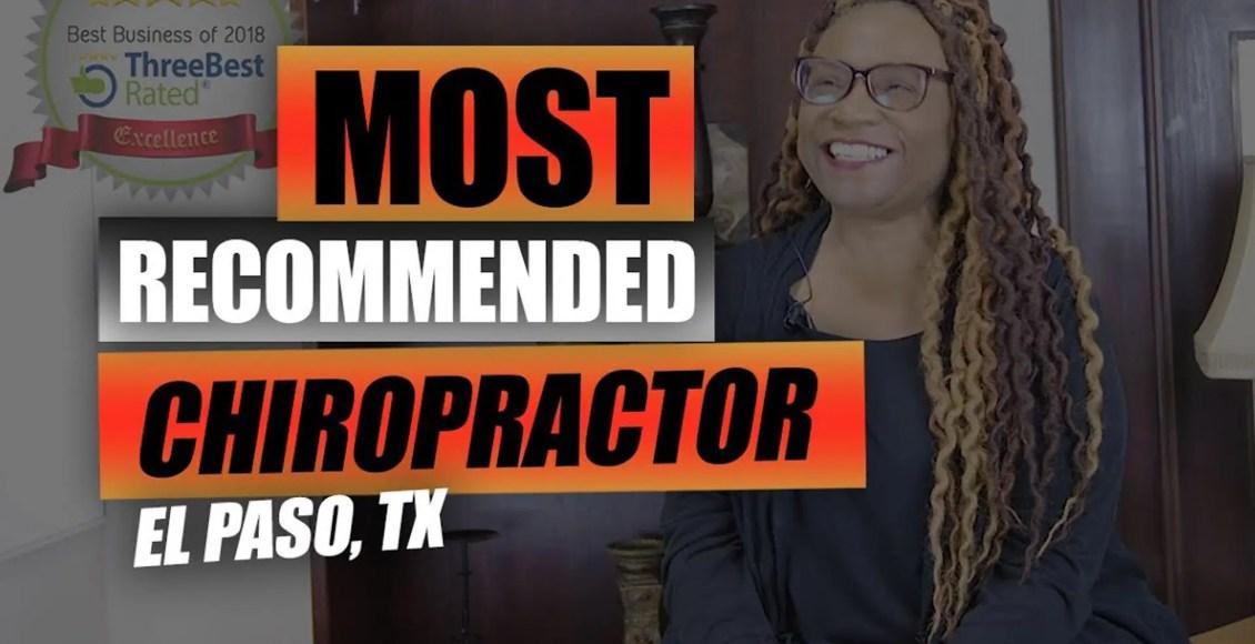 recommeded chiropractor el paso tx.