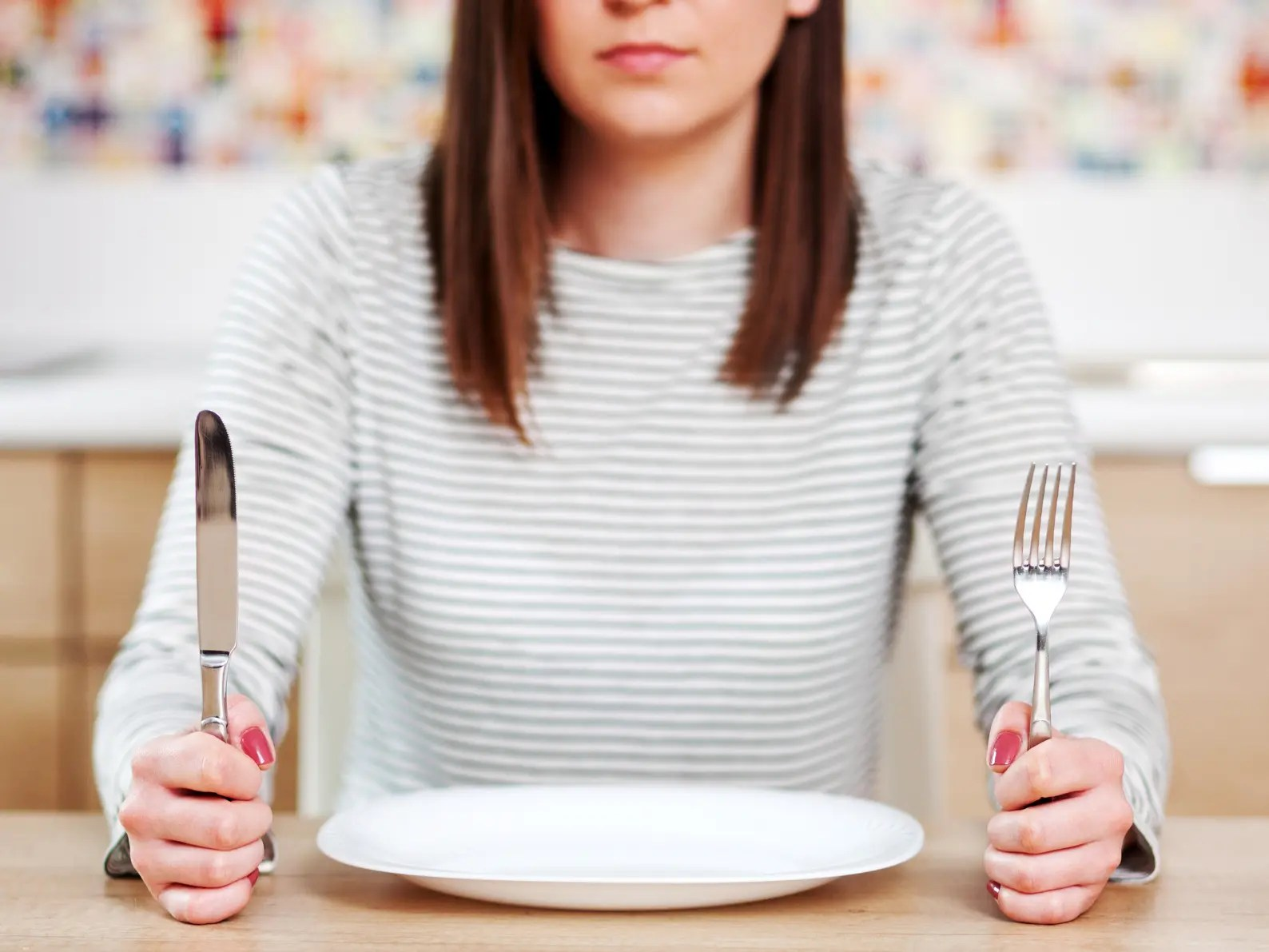 perdita di peso e restrizione calorica a 50 a digiuno