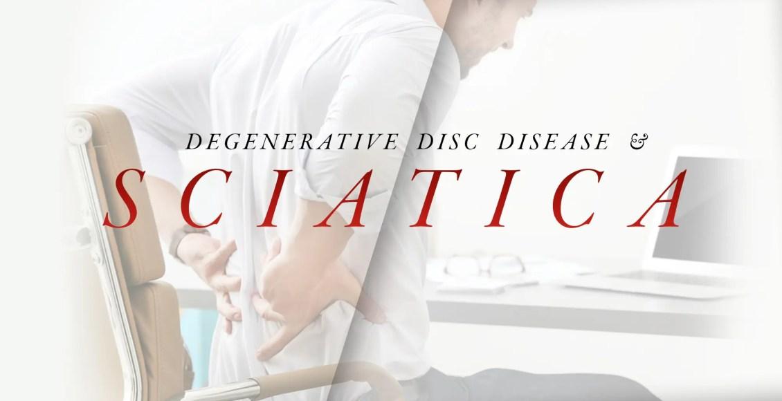 Malattia degenerativa del disco e sciatica | Chiropratico di El Paso, TX