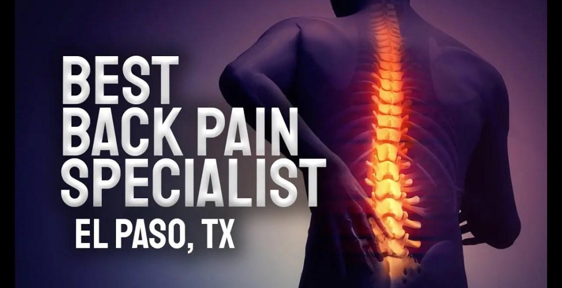 11860 Vista Del Sol Back Pain Specialist | El Paso, Tx (2019)
