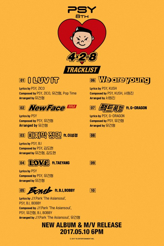 PSY's 8th music album
