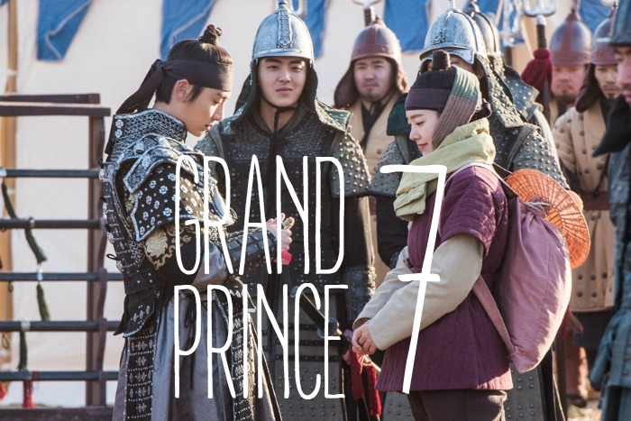 Live recap for episode 7 of the Korean drama Grand Prince starring Yoon Shi-yoon and Jin Se-yeon