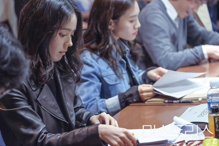 Mistress Behind the Scene's Script Reading