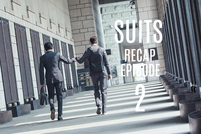 Live recap for episode 2 of the Korean Drama Suits starring Jang Dong-gun and Park Hyun-sik.