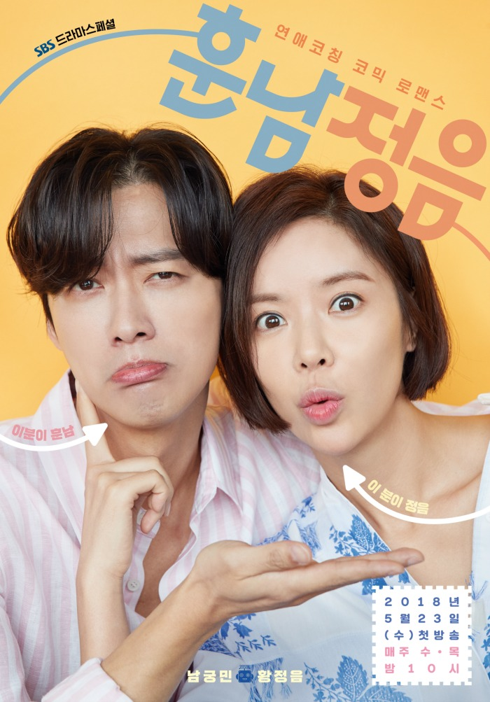 Premiering Korean Drama Recap The Undateables starring Namkoong Min and Hwang Jung-Eum