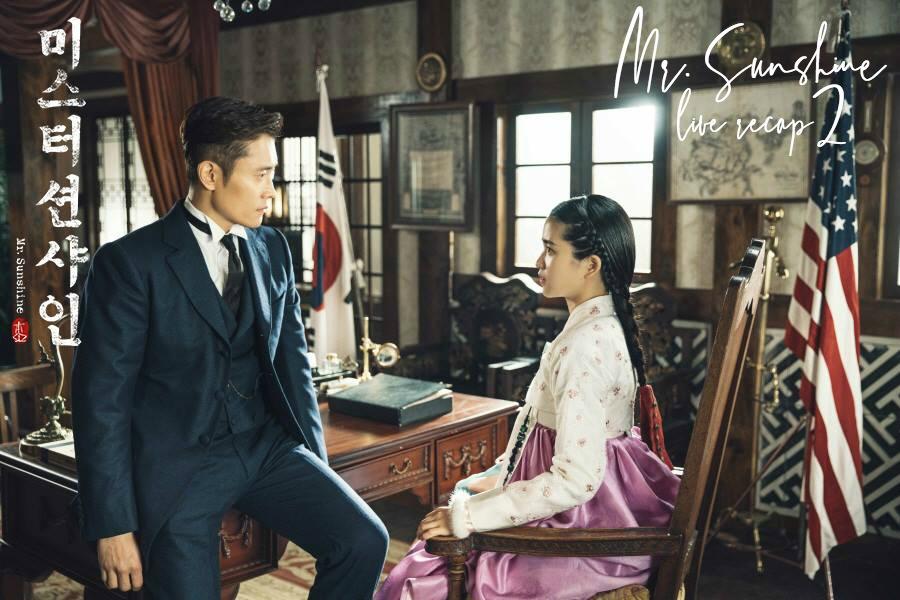 Phim tâm lý, tình cảm: Top 10 phim truyền hình Hàn Quốc hay hot nhất tháng 7 Mr-Sunshine-Live-Recap-2-Drama-Milk-English-Translation-