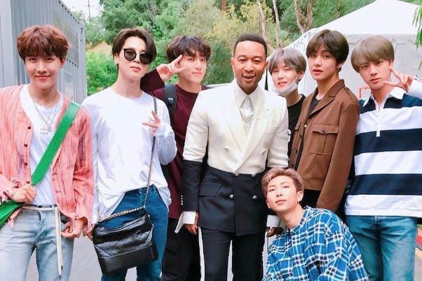 BTS and John Legend